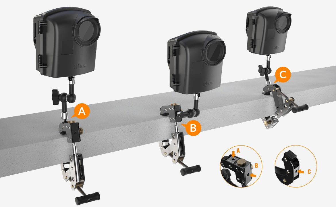 Camera Mounting Positions