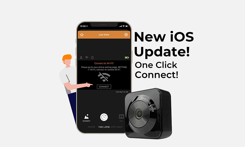 New TLC130 iOS App Update with Easy One Click Connect