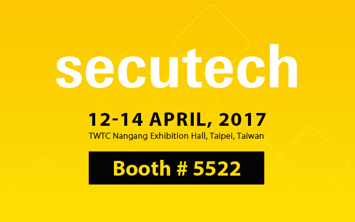 Brinno at SECUTECH 2017 booth 5522