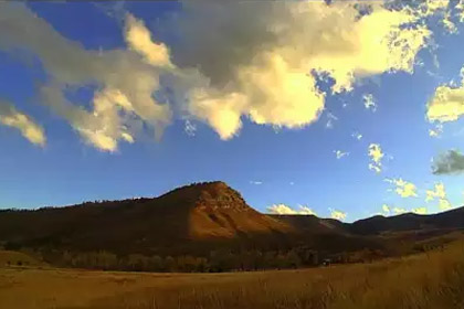 Sweet Clouds at Hall Ranch - Panlapse