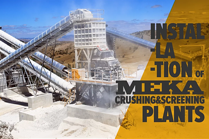 MEKA Crushing & Screening Plants