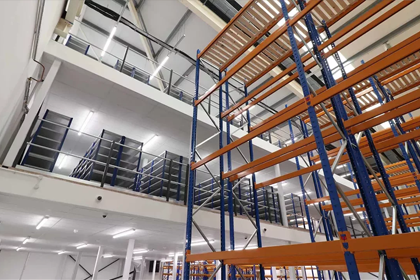 Multi-Tier Racking System Installation - Time Lapse