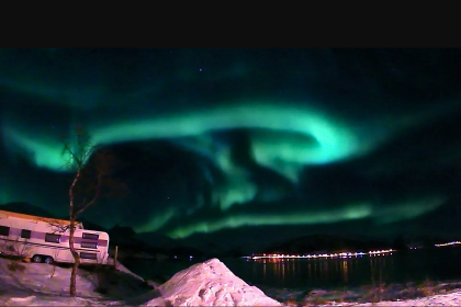 Northen lights in Senja