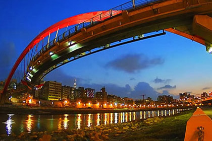 Time Lapse Taipei - Beautiful Bridges