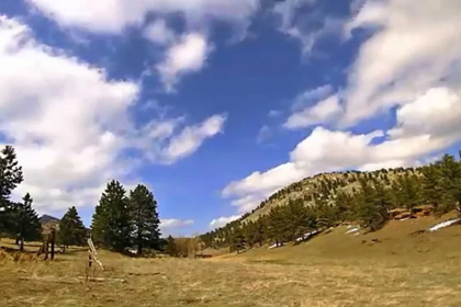 Clouds and Scenery at Heil Ranch - Shot with the Brinno